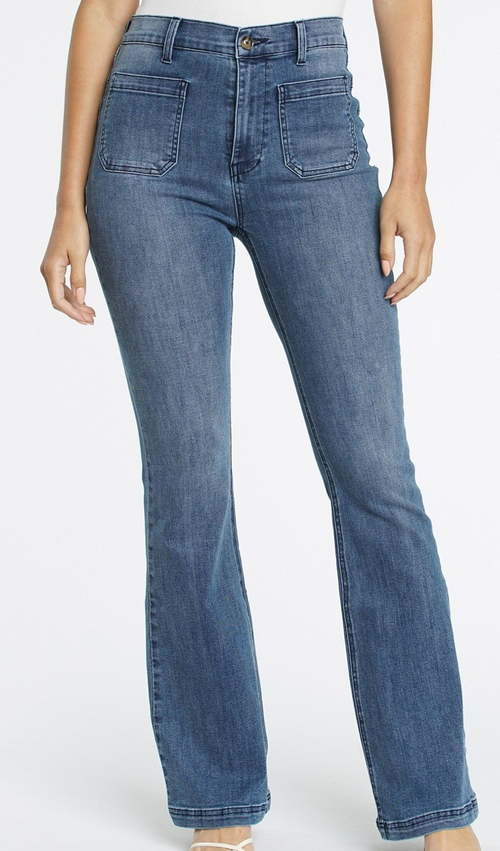 (New) Jeanne High Rise '70s Flare Jeans