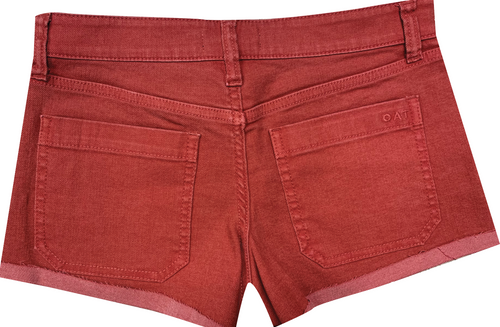 (New) Mid-Rise Patch Pocket Shorts