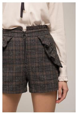 Ruffle Pocket Shorts