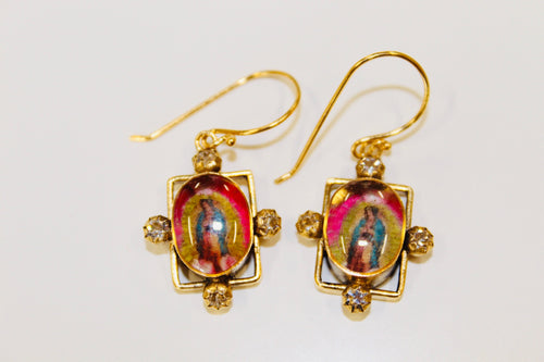 (New) Blessed Earrings-Feminist Icon