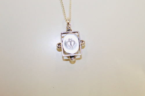(New) Small Blessings 12.5'-Necklace - St. Joan of Arc