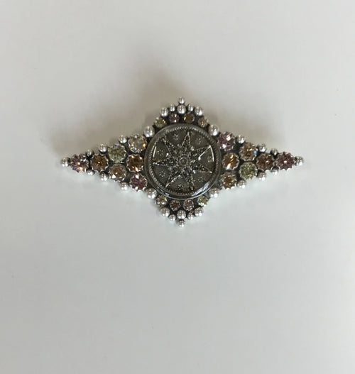 (New) Fay Winged Silver Brooche