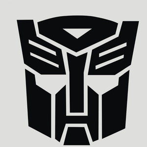 """Autobot"" Car Decal"