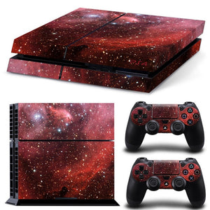 The Milky Way Series  Decal For PS4 Console and Controllers