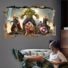 Load image into Gallery viewer, Avengers Wall Decal