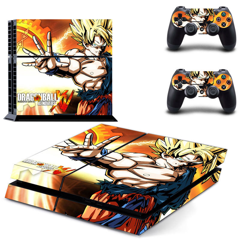 Dragon ball Decal For PS4 Console & Controllers