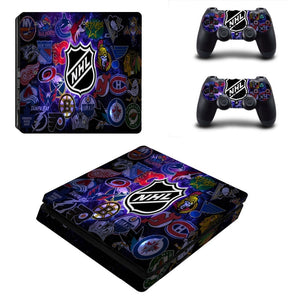 NHL Team Logo Decal For PS4 Console and Controller