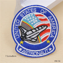 Load image into Gallery viewer, Off to Space NASA Sewing On Patches