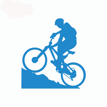 Load image into Gallery viewer, Bicycle Boy™ Car Decal