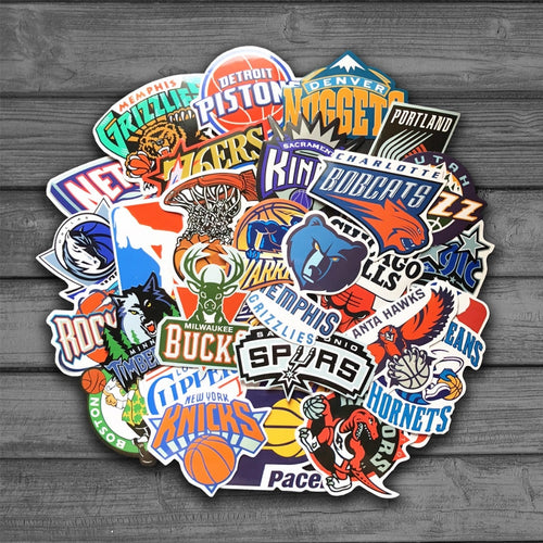 Full NBA Team Roster Decal Pack