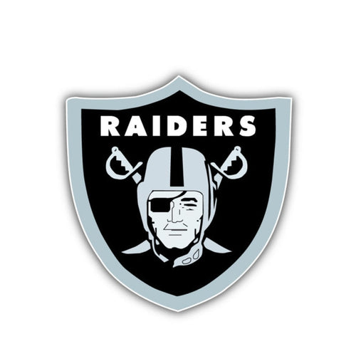 Oakland Raiders Car Decal