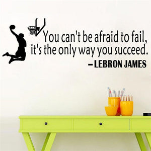 LBJ Quote Wall Decal