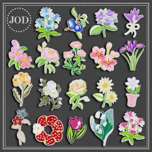 Flower Field Sew On Patches