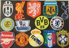 Load image into Gallery viewer, Football Badges Iron On Patches