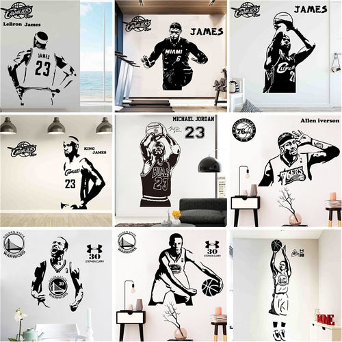 Basketball NBA Wall Decals