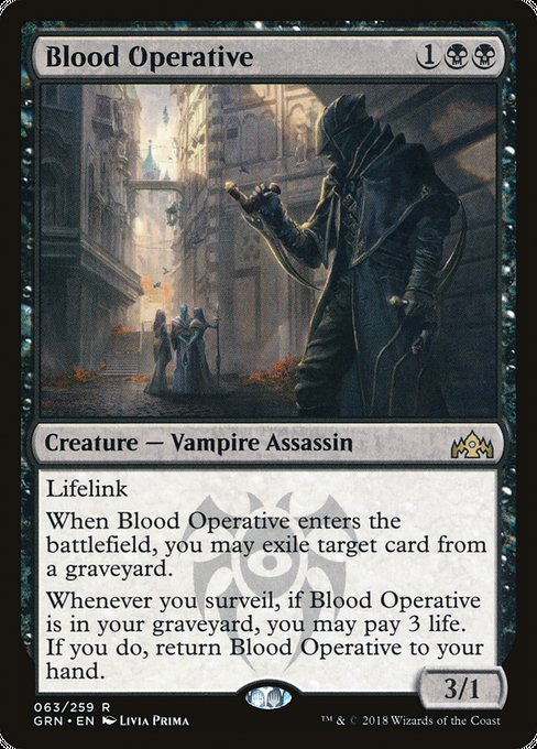 Blood Operative [Guilds of Ravnica] | Chimera Gaming
