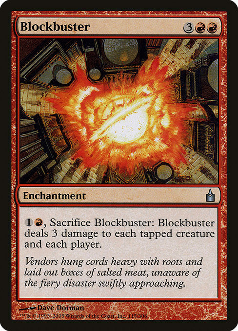 Blockbuster [Ravnica: City of Guilds] | Chimera Gaming