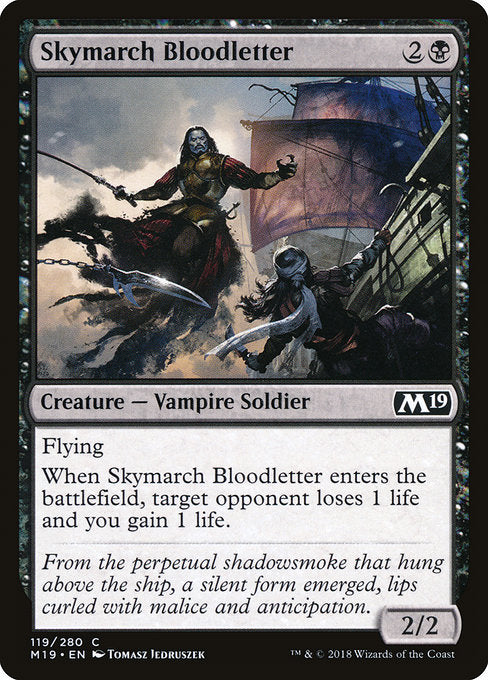Skymarch Bloodletter [Core Set 2019] | Chimera Gaming
