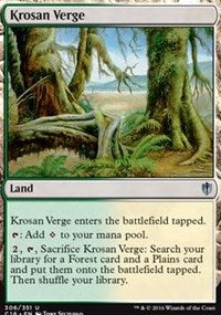 Krosan Verge [Commander 2016] | Chimera Gaming