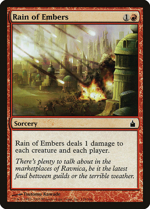 Rain of Embers [Ravnica: City of Guilds] | Chimera Gaming