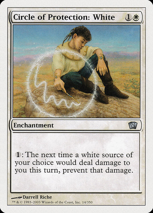 Circle of Protection: White [Eighth Edition] | Chimera Gaming