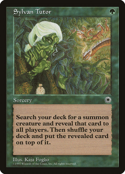 Sylvan Tutor [Portal] | Chimera Gaming