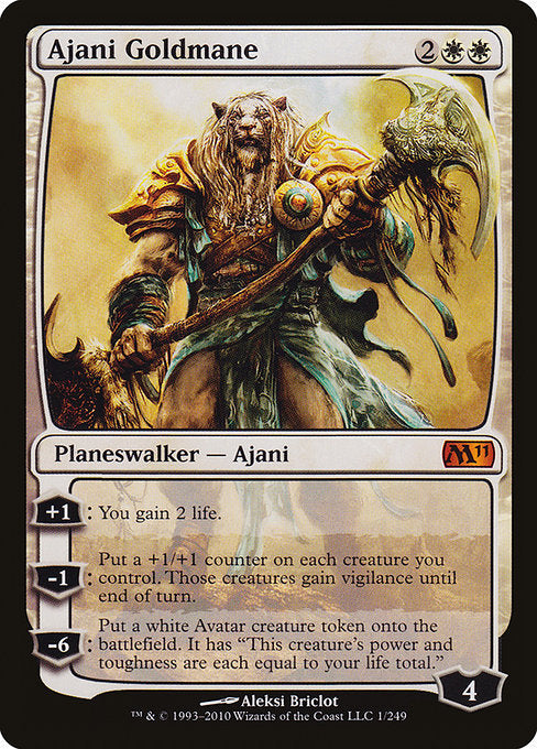 Ajani Goldmane [Magic 2011] | Chimera Gaming