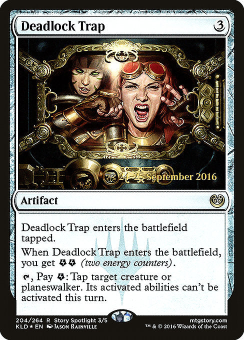 Deadlock Trap [Kaladesh Promos] | Chimera Gaming