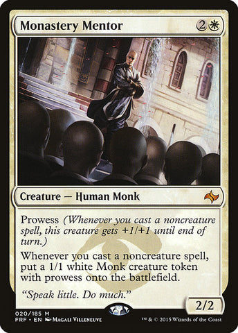 Monastery Mentor [Fate Reforged]