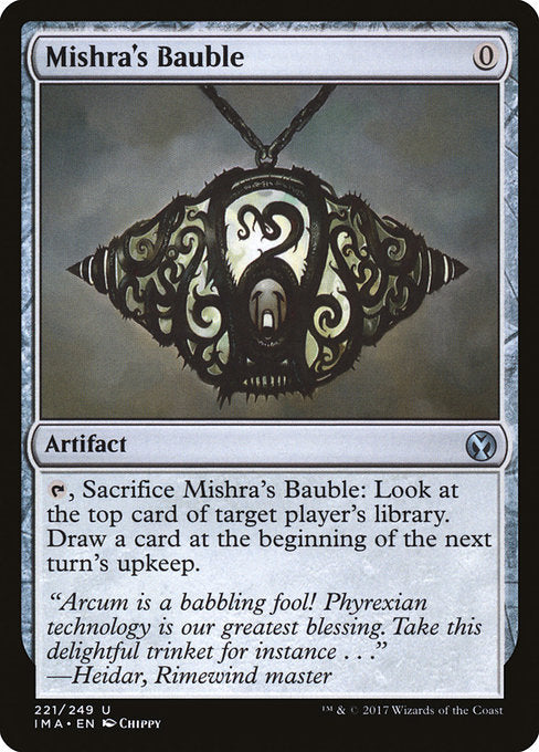 Mishra's Bauble [Iconic Masters] | Chimera Gaming