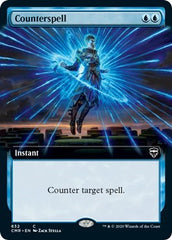Counterspell (Extended Art) [Commander Legends] | Chimera Gaming