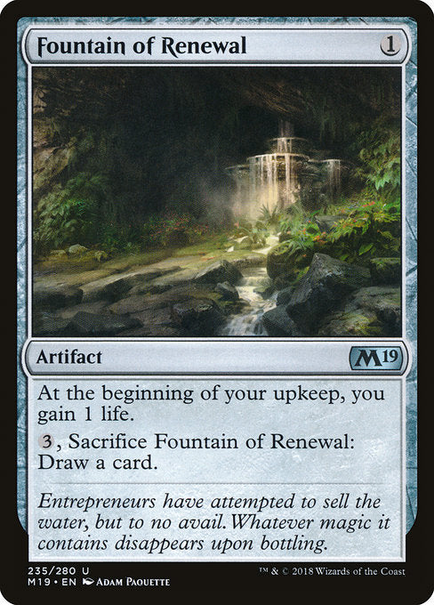 Fountain of Renewal [Core Set 2019] | Chimera Gaming