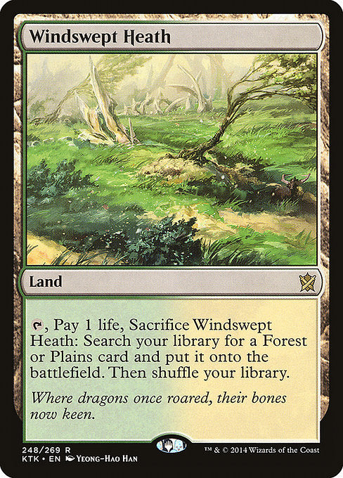 Windswept Heath [Khans of Tarkir] | Chimera Gaming