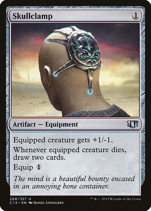 Skullclamp [Commander 2014]