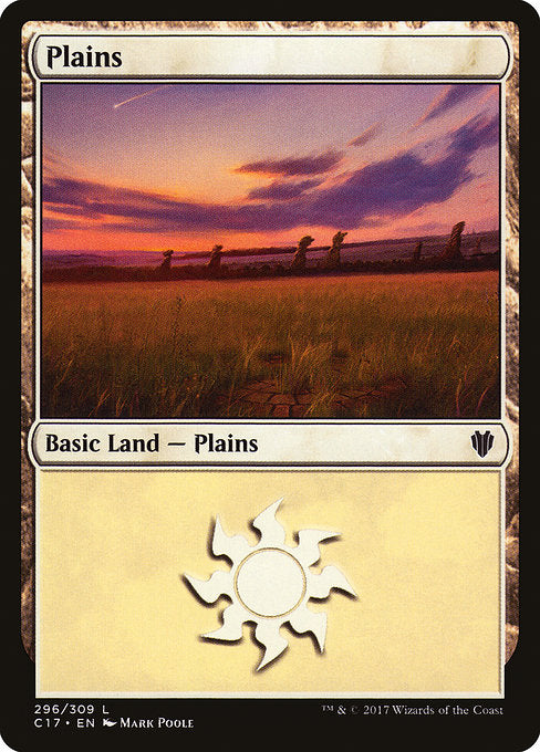 Plains [Commander 2017] | Chimera Gaming