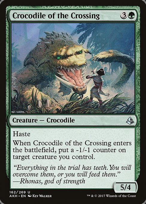 Crocodile of the Crossing [Amonkhet] | Chimera Gaming