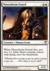 Mausoleum Guard [Innistrad] | Chimera Gaming