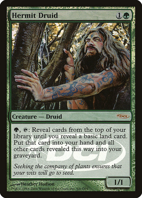 Hermit Druid [Judge Gift Cards 2004] | Chimera Gaming