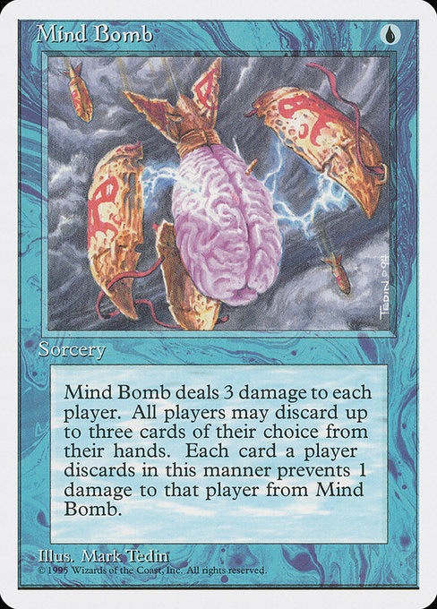Mind Bomb [Fourth Edition] | Chimera Gaming