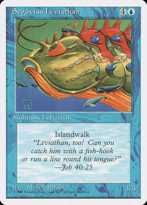 Segovian Leviathan [Fourth Edition] | Chimera Gaming