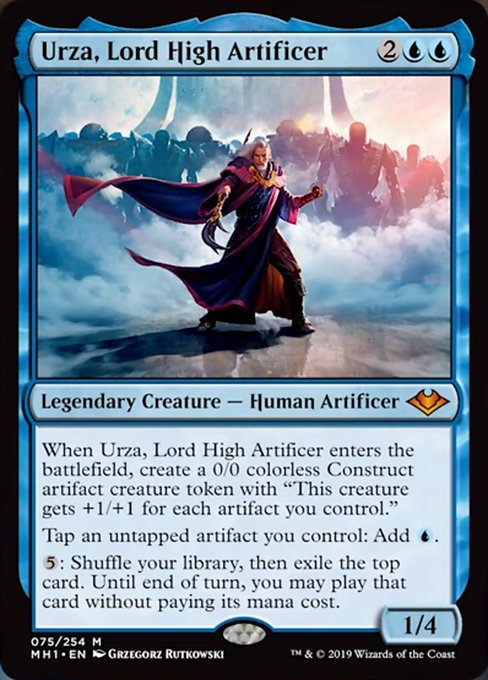 Urza, Lord High Artificer [Modern Horizons] | Chimera Gaming