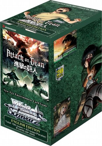 Booster Box - Weiss Schwarz Attack on Titan V2 | Chimera Gaming