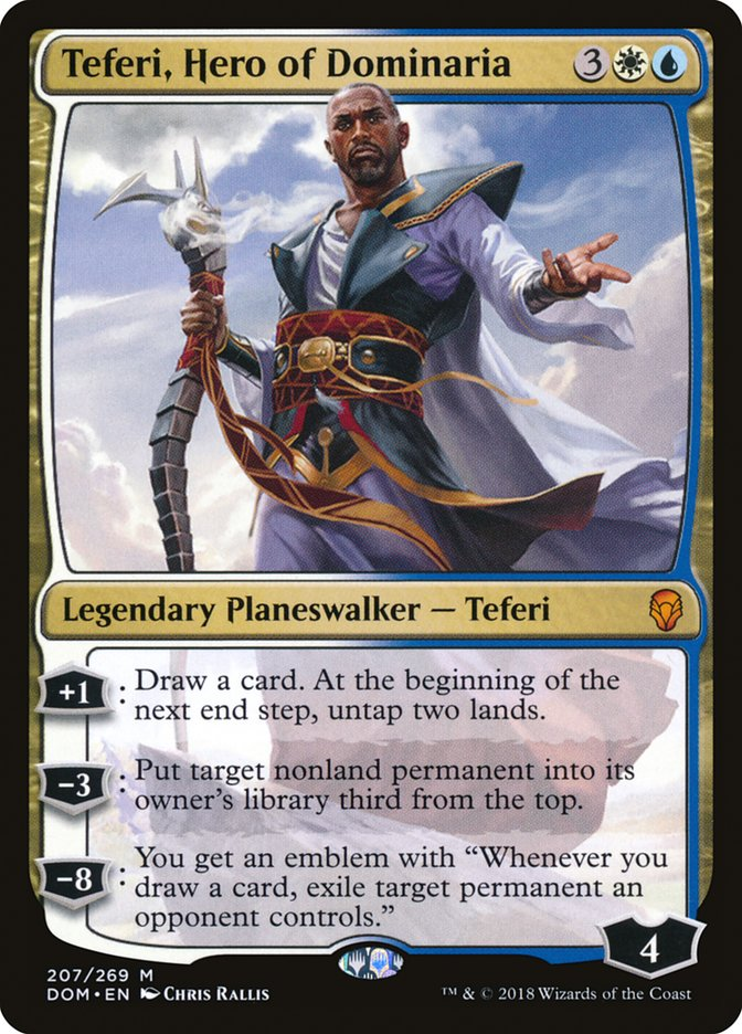 Teferi, Hero of Dominaria [Dominaria] | Chimera Gaming