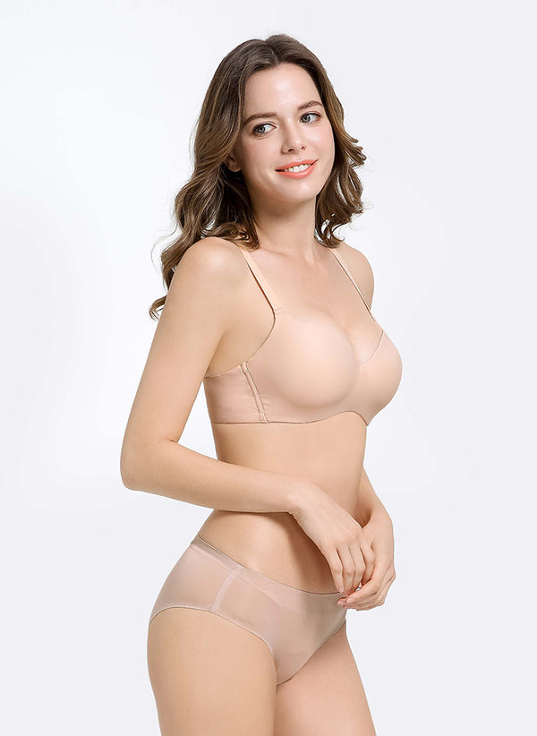 Nano-Lite Wireless Demi Cup Padded Bra