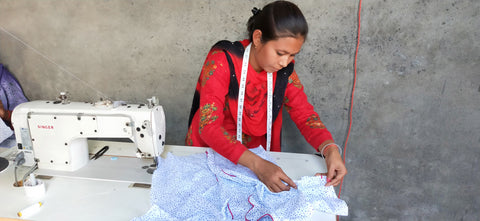 sewing indian women