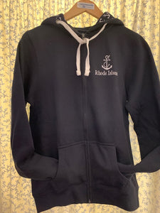 Ladies Anchor Full Zip Hooded Sweatshirt