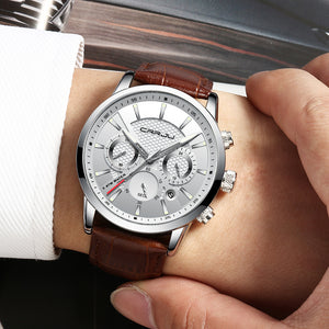 Men's Analog Quartz Chronograph Sport  Wristwatches T5158