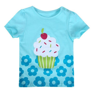 Cartoon Short Sleeve T-shirt