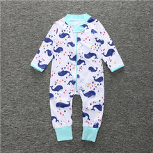 Load image into Gallery viewer, The new 2018 Autumn / Spring baby rompers wear long-sleeved overalls Baby Boy Girl clothing cotton Childrens wear rompers  SR111