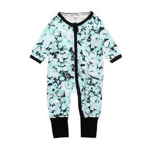 The new 2018 Autumn / Spring baby rompers wear long-sleeved overalls Baby Boy Girl clothing cotton Childrens wear rompers  SR111
